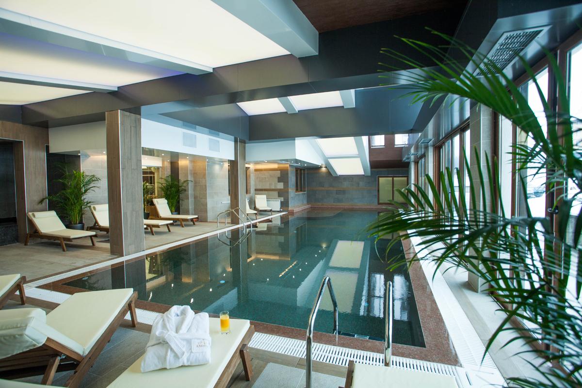 Интериор СПА център, Аmira Apartments & SPA, Банско 11