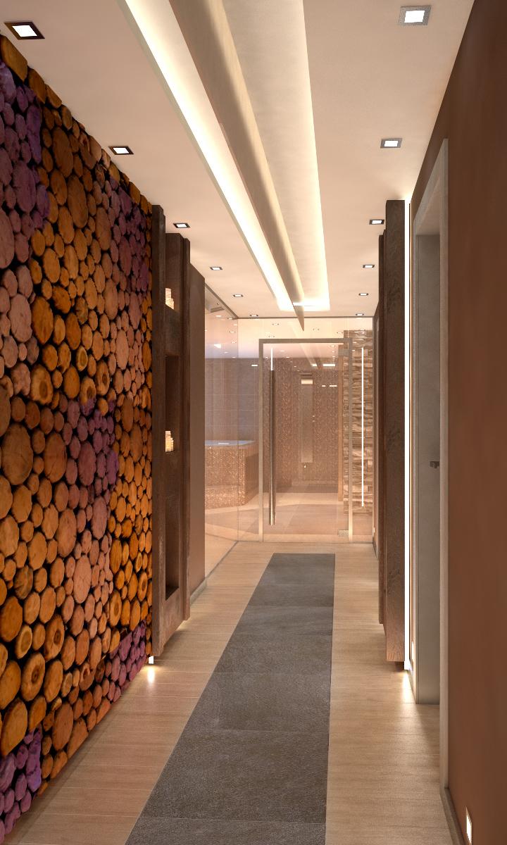 Интериор СПА център, Аmira Apartments & SPA, Банско 7