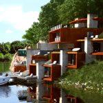 Проект Къща на язовира 1