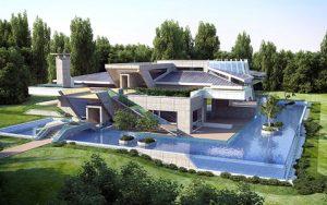 Проект за Еднофамилна къща, с. Лъка 1