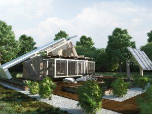 Къща с възможност за трансформации 12Архитектурен проект и интериорен дизайн от Арт Ню Вижън