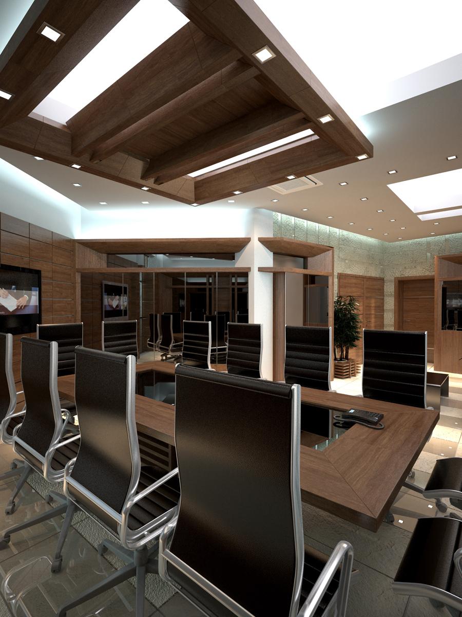 Интериор на Заседателна зала 3