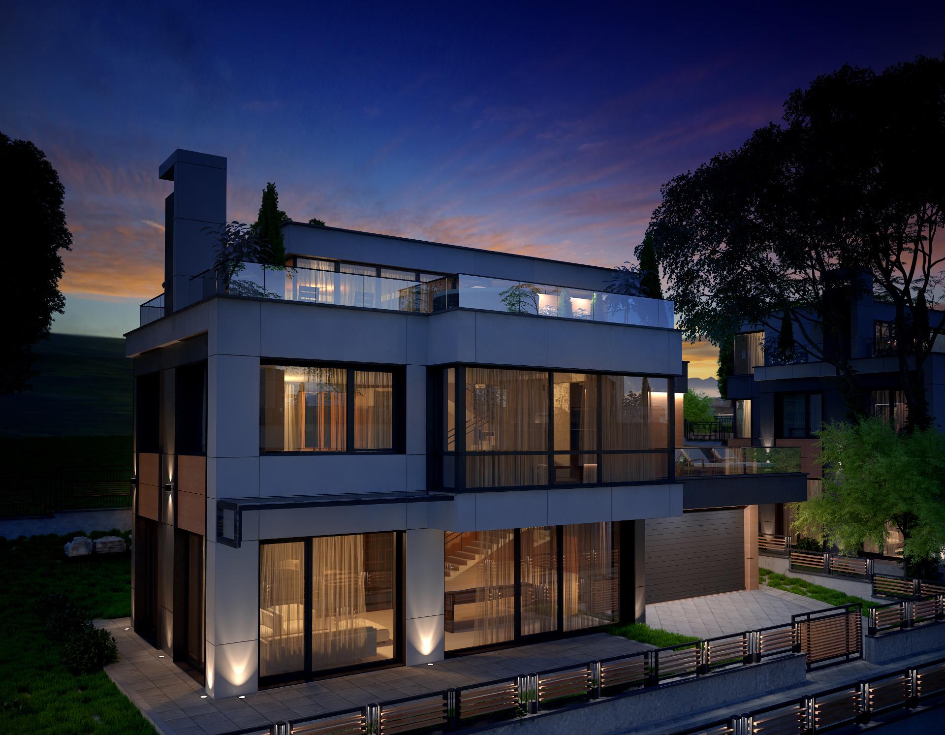 Архитектурно студио Арт Ню Вижън е проектант на жилищен компкес в с. Бистрица