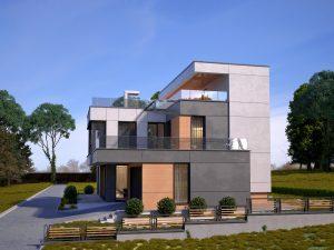 Архитектурно проектиране на жилищен комплекс в кв. Бистрица