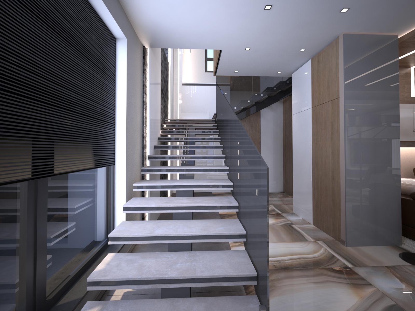 Интериорно проектиране на еднофамилна сграда