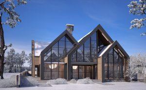 Архитектурно студио Арт Ню Вижън е проектант на къща в полите на Витоша