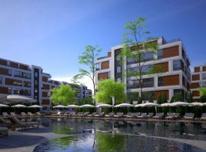 Архитектурно студио Арт Ню Вижън е проектант на жилищен комплекс в гр. София