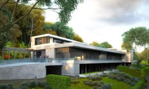 Архитектурно студио Арт Ню Вижън е проектант на къща в Дортмунд, Германия Haus Husen