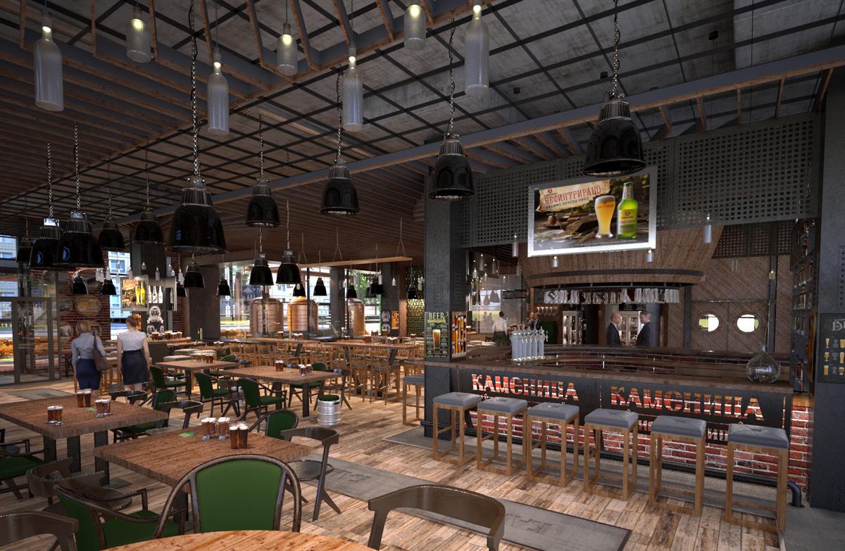Архитектурно студио Арт Ню Живън проектира интериорен дизайн на пивоварна за Каменица АД